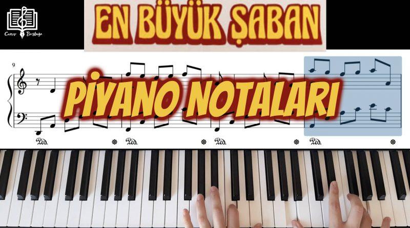 En büyük şaban piyano