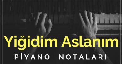Yiğidim Aslanım – Zülfü Livaneli | Piyano Notaları