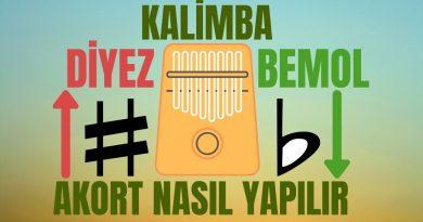 Kalimba ♯ Diyez – ♭ Bemol Akort Frekans Tablosu