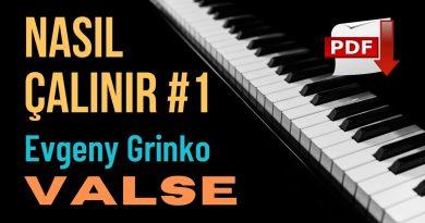 Evgeny Grinko – Valse Piyano Notaları İndir