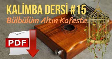 15. Kalimba Dersi – Bülbülüm Altın Kafeste
