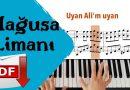 Mağusa Limanı (Piyano Cover – Karaoke – Nota)