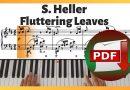 Stephen Heller – Fluttering Leaves Op. 46 No. 11 Etude | Piano Sheet Music PDF Free Download
